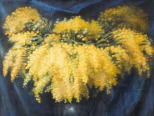 IWANOWSKI Błażej (1889-1966) MARTWA NATURA Z MIMOZAMI