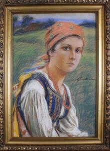GÓRSKI Stanisław (1887 Kościan - 1955 Kraków) Góralka