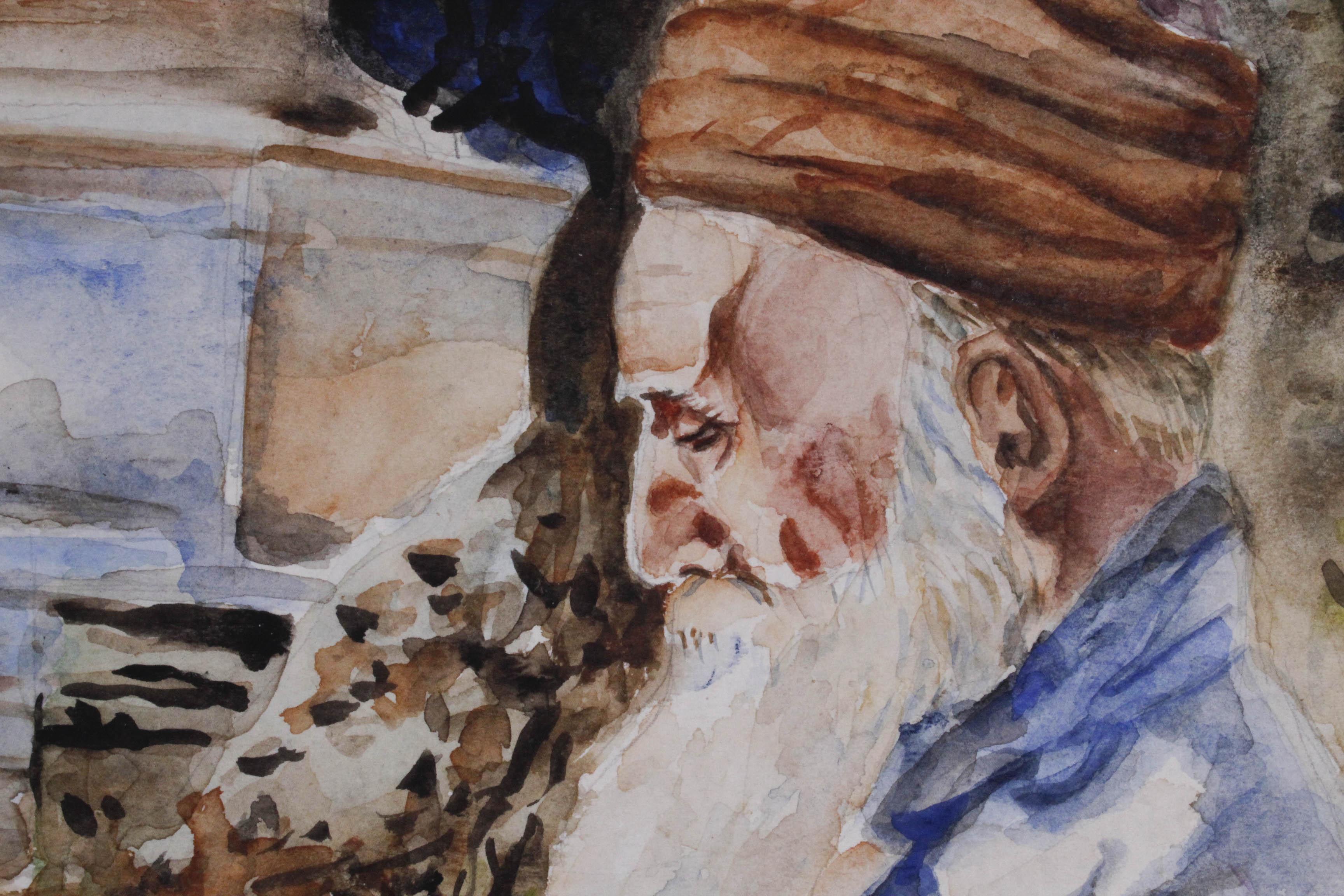 WYGRZYWALSKI Feliks Michał (1875 - 1944) USTĘP Z KORANU , 1924